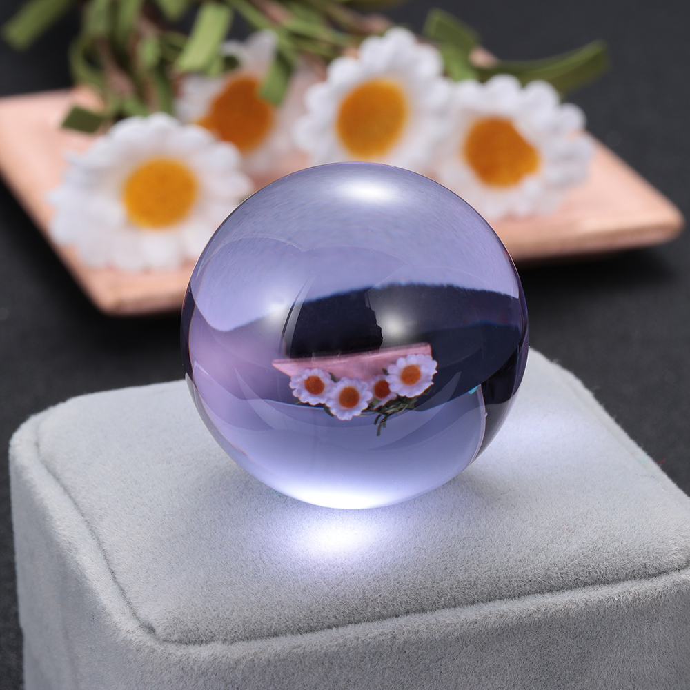 1Pc Natural Amethyst Quartz Stone Sphere Crystal  Ball Fluorite Healing Gemstone