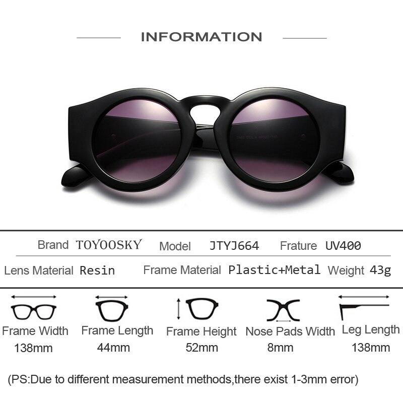 TOYOOSKY old school vintage steampunk lunettes de soleil femmes 2017  lunettes de soleil pour hommes ronde lentille flèche Cadre KW marque  designer dans ... d3cdbf894b8c