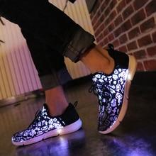 7ipupas New Casual Shoes Fiber Optic cloth and elastic sole
