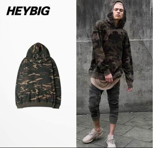 KENNTRICE Camouflage Hoodies Solid Pullover Men Ladies Couple Friends Hoodie Black White Blue Gray Blank Camo Hooded Sweatshirt