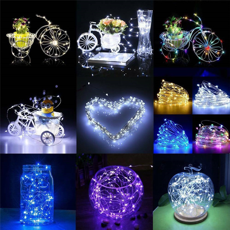 235 M waterproof Led Strings Copper Wire holiday night lights Christmas garland fariy strip lamp Wedding Party home Decoration (8)