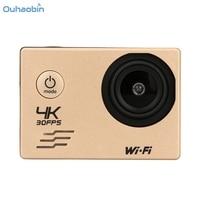 Ouhaobin Cool Wifi Camera Waterdichte Case 4 K WIFI Mini Action Cam HD DV Sport Recorder Camera Draagbare Take 'S Oct20