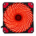 33 Lights 120*120*25mm PC Computer Fan LED Silent DC 12V Luminous 3Pin 4Pin Plug Computer Case Heatsink Cooler Cooling Fan