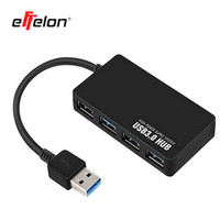 Super Speed USB 3 Charger 5 Gbps 4 Ports Ultra Thin Design For Computer Laptop