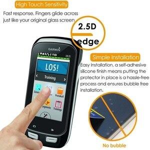 Image 2 - VSKEY 50 sztuk szkło hartowane dla Garmin Edge 830 820 530 520 130 1030 1000 ochraniacz ekranu GPS folia ochronna