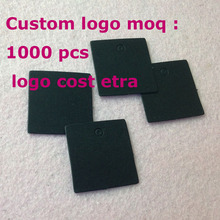 Diy Small Kraft /Black Tag Hand Made Custom logo Cost Extra Swing Label 1LOT =200 pcs Custom LOGO Cost Extra moq :1000 P