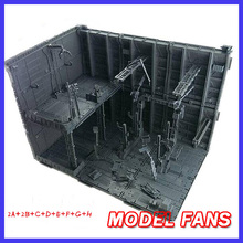 MODEL FANS IN-STOCK CG MODEL MG HG PG A-J set gundam Assembly display Machines Nest Action Chain Base figure toy gift