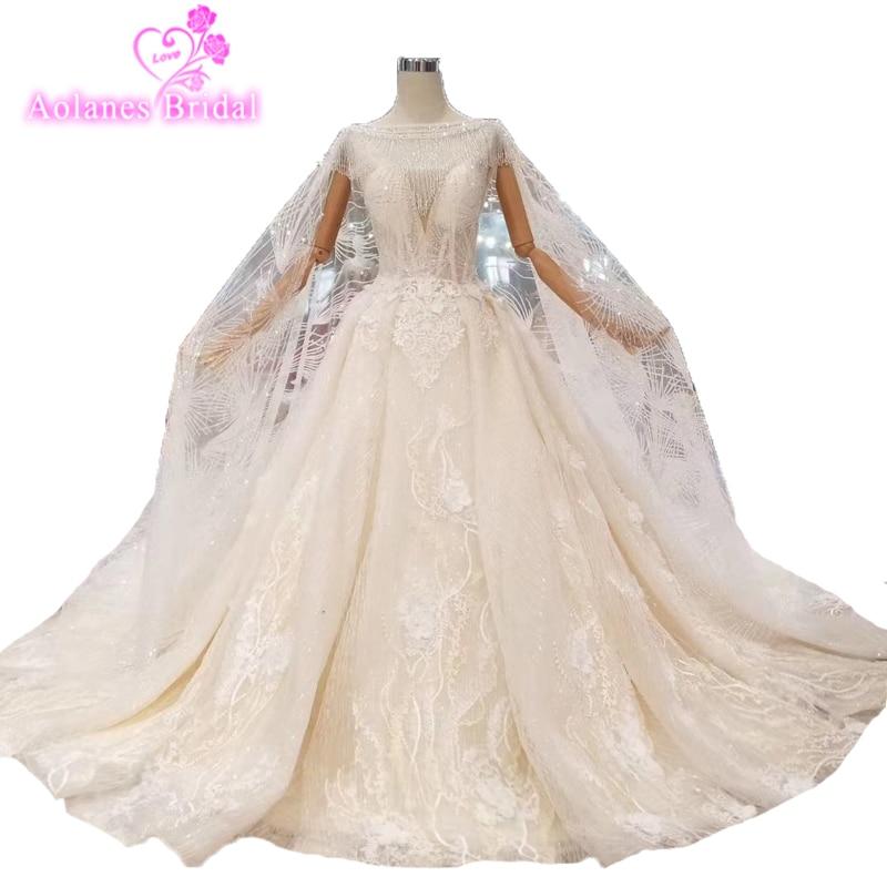 Us 629 1 10 Off African Moroccan Kaftan Glitter Arabic Muslim Ball Gown Wedding Dresses Turkish Dubai Lace With Shawl Veils Formal Bridal Dress In