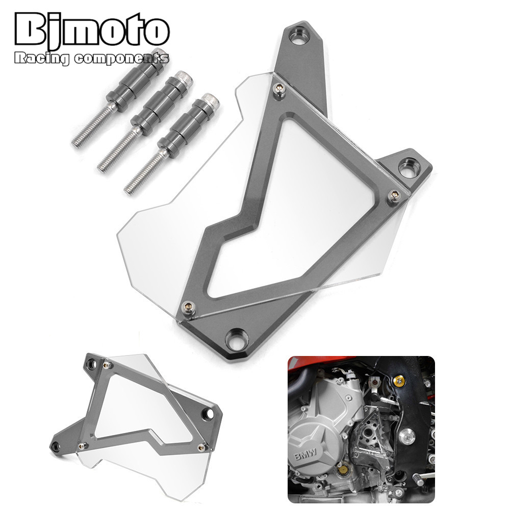 Moto Front Sprocket Engine Chain Guard Case cover protector For BMW S1000R 2014-2015 S1000RR 2010-2016 HP4 2012-2014 S1000XR sep motorcycle accessories carbon fiber engine sprocket chain case cover clutch cover for yamaha mt09 fz09 tracer fj09 2014 2017