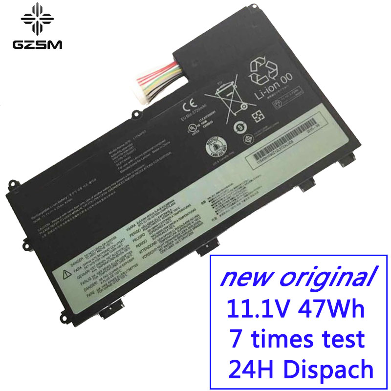 GZSM Laptop Battery 45N1089 for <font><b>Lenovo</b></font> ThinkPad <font><b>T430U</b></font> battery for laptop L11N3P51 L11S3P51 45N1090 45N1091 Laptop Battery image