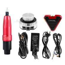 Professional Tattoo Set Matching Rocket Second Generation Rotating Motor Pen Aurora I Power Supply Triangle Pedal