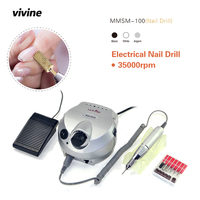 Professional Electric Nail Drill Machine Manicure Kits File Drill Bits Sanding Band Accessory Nail Salon Nail
