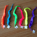 1-120pcs Plush Magic Twisty Worm Kids Trick Toy Caterpillar Toys Kids Children magic games Toys top