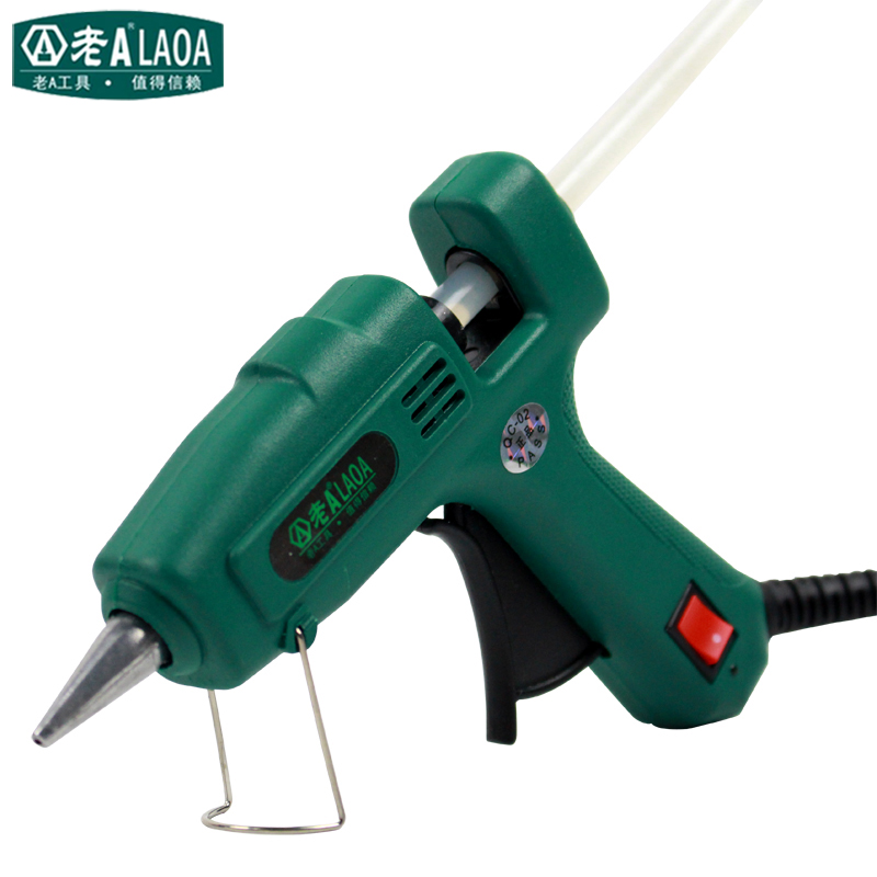 Frugal Laoa 25w Hot Melt Glue Gun Diy Mini Glue Gun For Metal/wood Working Stick Paper Hairpin Pu Flower Repair Tools Beneficial To Essential Medulla Glue Guns