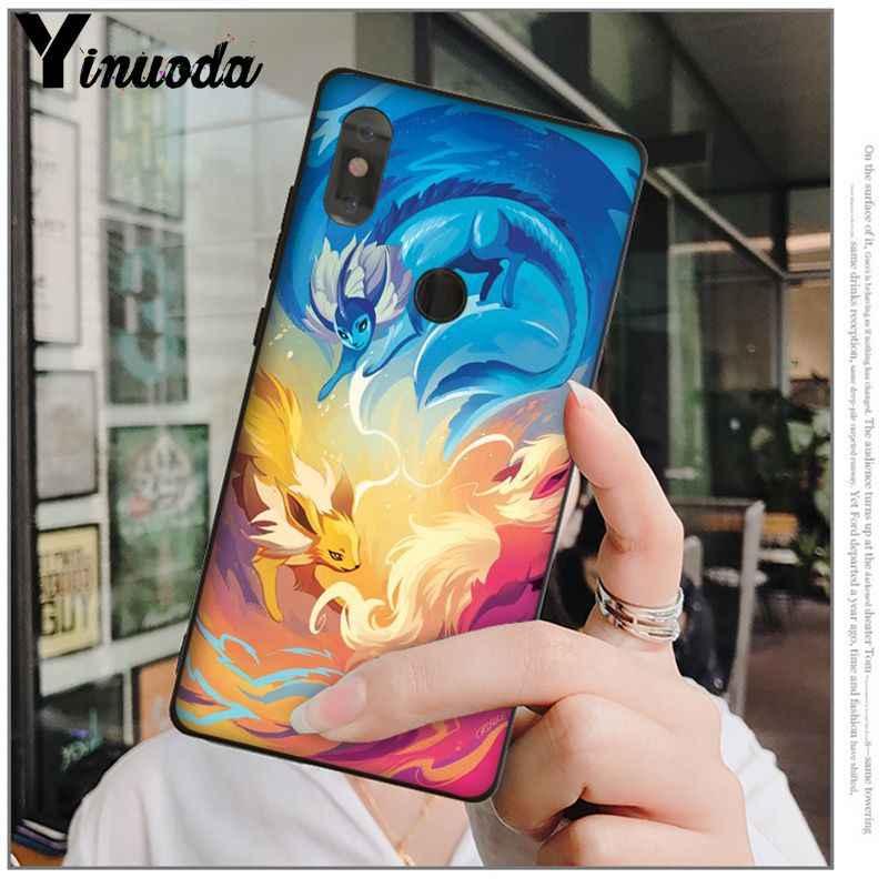 Yinuoda Charizard Squirtle Pokemon Pokemons lindo colorido funda de teléfono para Xiaomi mi 6 Note3 8 8SE Redmi 5 5Plus Note4 4X Note5