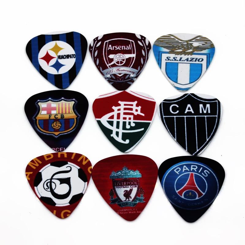 SOACH 50pcs Bass gitara motika nogomet znak znak uzorak Instrumento pribor Guitarra / akustična gitara / ukulele dijelovi