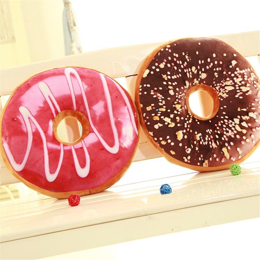 Φ_ΦCreative donut Cojines decoración del hogar alta calidad Linda