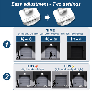 Image 5 - 10W 20W 30W 50W LED Flood Light with Motion Sensor AC110V 220V LED Floodlight Waterproof Outdoor Spotlight for Garden