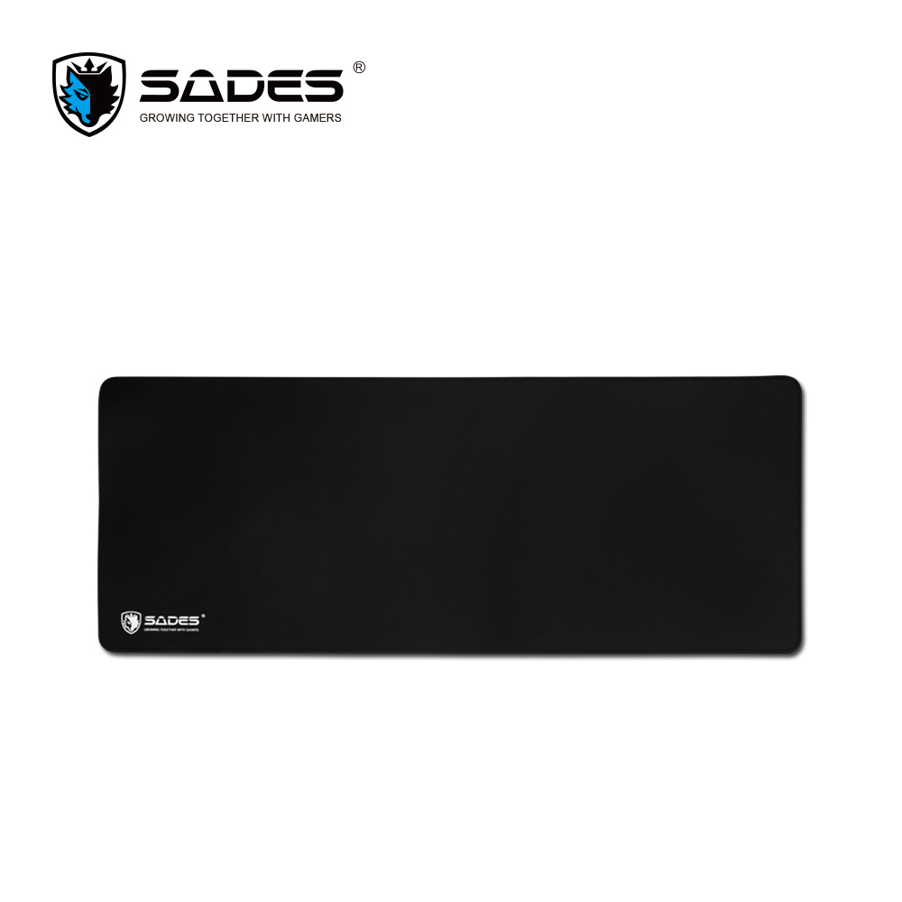 SADES TORNADO Extra Large Size Mouse Pad Natural Rubber Base Pad Non-Slip Cloth Gaming Mouse Pad for Professional Gamer beautiful design non slip rubber gaming oblong mouse pad