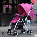 Carrinho de bebê 3 em 1 Carrinhos de Bebê, Assento De Alta Vista, 2 Roda Pneumática Da Roda + 2 EVA paisagem alta carrinhos