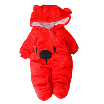 LZH Baby Winter Clothes Newborn Baby Girls Overall Autumn Baby Romper For Baby Boys Jumpsuit Christmas Costume Infant Clothing 6