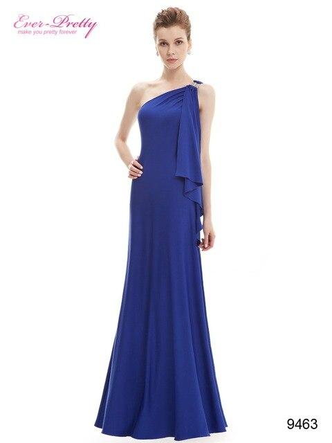 9463 великолепная фиолетовый одно плечо длинные платья с кристаллами