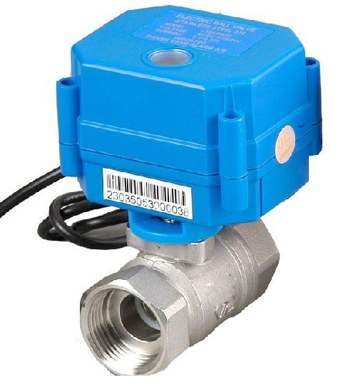 CWX-15Q 1 Stainless Steel Electric Ball Valve Water 220V VoltageCWX-15Q 1 Stainless Steel Electric Ball Valve Water 220V Voltage