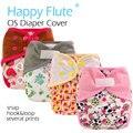 HappyFlute OS пеленки крышка с или без бамбука вставка, двойные клиньев, водонепроницаемый дышащий, S M и L регулируемый, подходит для 5-15 кг ребенка