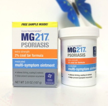 Original MG217 psoriasis silver crumbs containing Coal 107g Multi Symptom Ointment Intensive Strength cream
