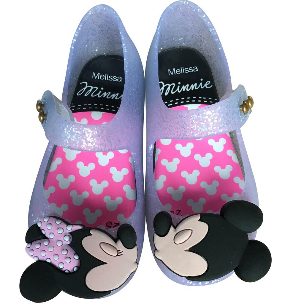 Melissa Mini Girls Shoes Mouse Twins New Style Kid Shoe