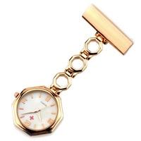 Pocket Quartz Watch Doctor Pendant Red Cross Brooch Nurses Watch Fob Hanging Medical Pocket Watch Relogio Women' Watch Clock