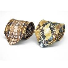 Men Novelty Tie Formal for Ties 3D Printed Necktie Wedding Party Man Business Shirt Accessories Corbatas Para Hombre 5LD01