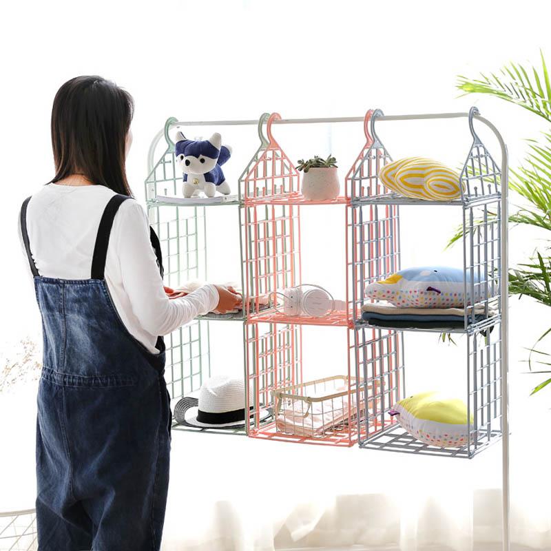 Folding-Hanging-Clothing-Storage-Holder-Home-Sundry-Underwear-Kids-Toys-Closet-Organizer