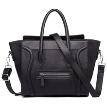 Mode Frauen Designer Promi Lächeln gesicht handtasche Schultertasche Hand Bag Styles Totes umhängetaschen