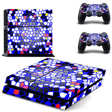 Skin Vinyl Decal Sticker For PS4 Playstation 4 Console + 2 Controller