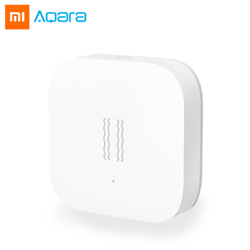 Xiaomi Mijia Aqara Vibration Sensor And Sleep Sensor Valuables Alarm Monitoring Vibration Shock Work Mi Home App Original
