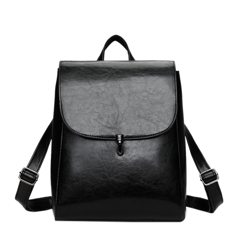 LJL-Fashion Women Backpack Youth Leather Backpacks For Teenage Girls Female School Shoulder Bag Lock BackpackLJL-Fashion Women Backpack Youth Leather Backpacks For Teenage Girls Female School Shoulder Bag Lock Backpack