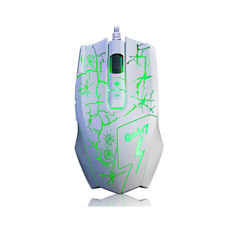 AJAZZ Q7 Professional Gaming Mouse Optical USB Wired Mouse 4000DPI with LED Backlight 8 Buttons for PC Desktop Laptop