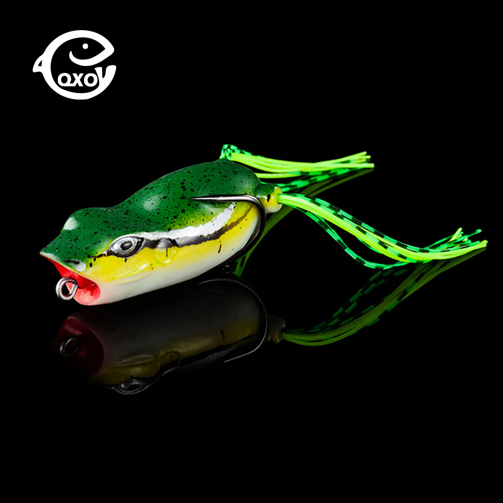 QXO Silicone Soft Bait Wobbler Fishing Frog Lure Spoon 10g Jig Winter Goods For Fishing Hard Jigging Ice Sea Spinner Duck Minnow
