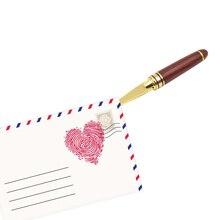 Briefopener открытие открывалка деревянной ручкой серебряный золотой письмо ретро нержавеющей стали