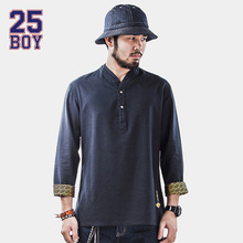 25BOY CARPTOWN Chinese Oriental Shirt Trendy Streewear