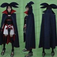 Magical Girl Lyrical Nanoha A S Fate Testarossa Cosplay Costume Halloween Uniform Top Skirt Cloak Belt