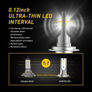 2 stücke H7 H11 H4 LED 16000LM H8 H9 9005 9006 HB4 Auto LED Scheinwerfer Hallo-Lo Strahl 12V COB Auto Auto Nebel Glühbirne 6500K Weiß Lampe