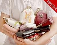 Princess sweet lolita coin purse Original small freshness soft sister wallet Lovely girl Mini creative coin purse women CC135
