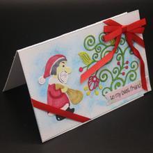 AZSG Merry Christmas Cutting Dies For DIY Scrapbooking Decorative Card making Craft Fun Decoration 4.7*7cm