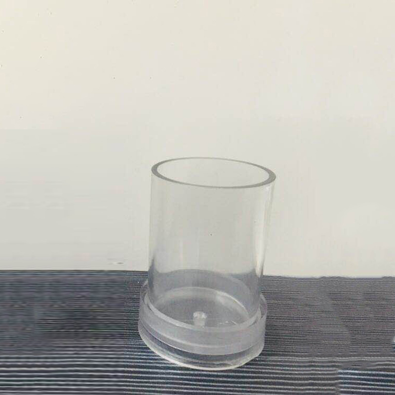 Making Plastic Clear Candle Mould For Handmade DIY Craft Kit Tools Transparent Stock Candle Mold Latest Durable