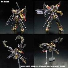 Оригинальная модель Gundam RG 1/144, амацу мина, мобильный костюм, детские игрушки