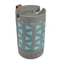 Portable Mini  Bluetooth Speaker Subwoofer Wireless Speaker High Quality Surround Sound Speaker With Colorful Atmosphere Lights все цены