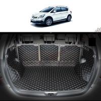 lsrtw2017 fiber leather car trunk mat for toyota verso 2009 2010 2011 2012 2013 2014 2015 2016 2017 2018 Sportsvan