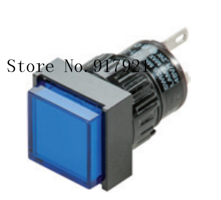 [ZOB] LED 31-704.006 31-703.006 EAO Switzerland square button switch indicator 16mm --2PCS/LOT [zob] reset 704 123 018 704 121 018 import switzerland eao key switch lock hole 30 5 2pcs lot
